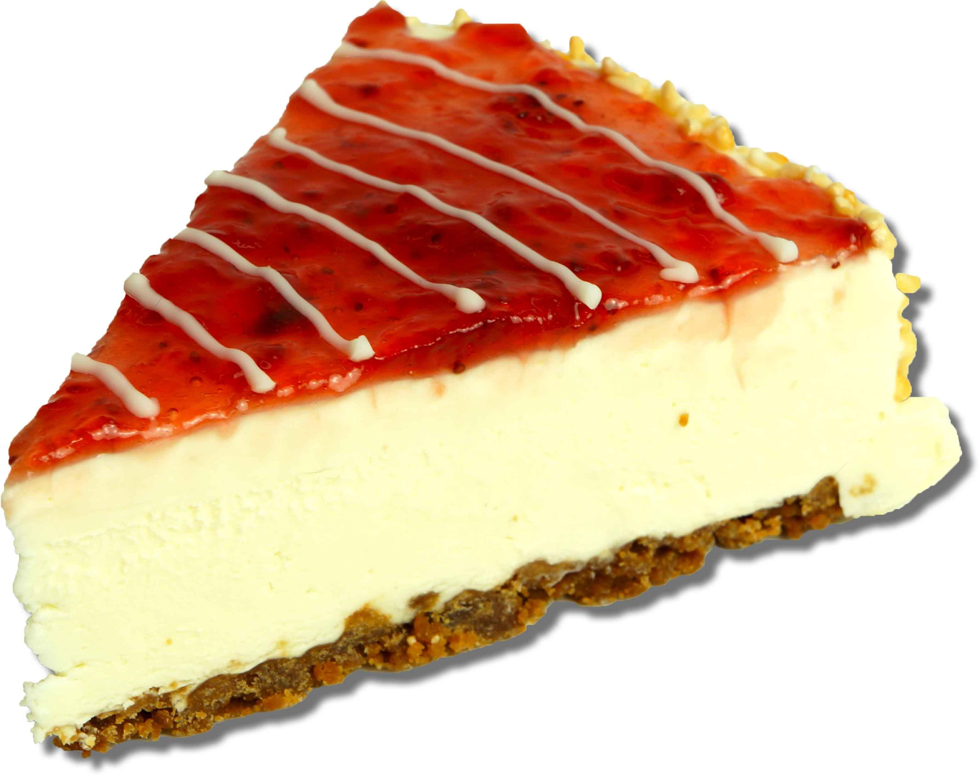 Cheesecake Erdbeer Stück
